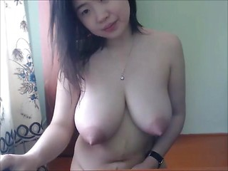 Amazing Perfect Milky Asian Tits